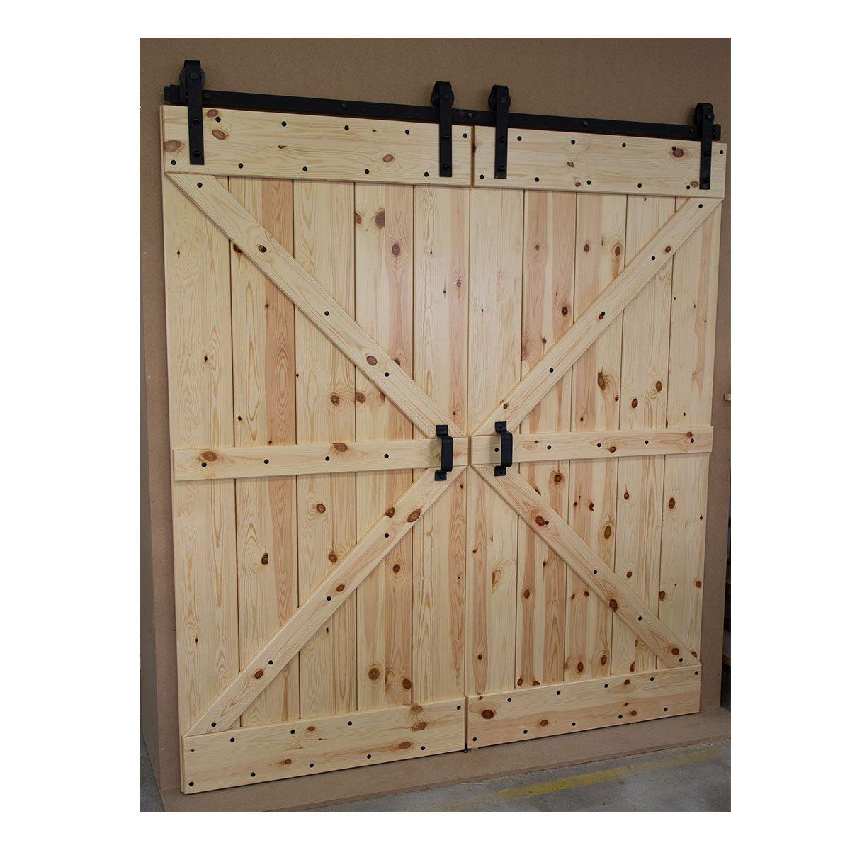 Drzwi drewniane niestandardowe